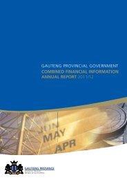 ACFI 2011/12.indd - Gauteng Provincial Treasury