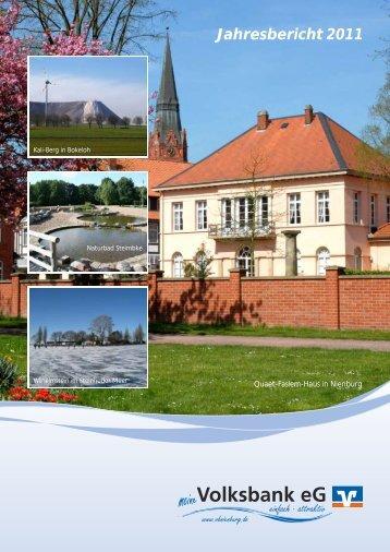 Jahresbericht 2011 - Volksbank eG