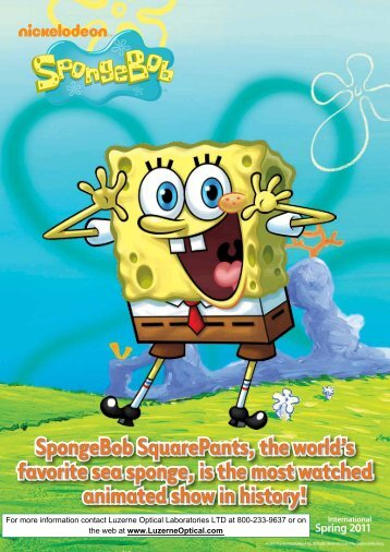 SpongeBob SquarePants, the world's favorite sea sponge, is the ...