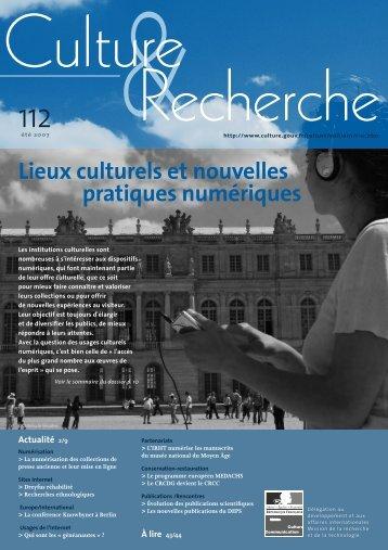 Lieux culturels et nouvelles pratiques numériques - Rurart
