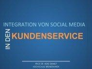 KUNDENSERVICE - Prof. Dr. Heike Simmet