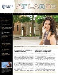 Spring 2013 - Rice University