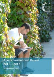 Annual Institutional Report 2011 – 2012 - Staff and Departmental ...