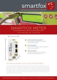 Datenblatt smartfox Meter