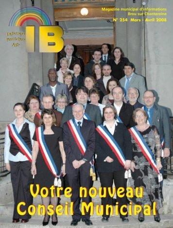 IB Avril-Mai 2008: IB MARS-AVRIL2005-3 - Brou Sur Chantereine