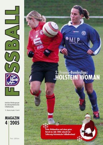 HOLSTEIN WOMAN - Schleswig-Holsteinischer Fussballverband eV