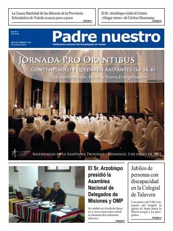 Número 1.223. 3-4 de junio - Archidiócesis de Toledo