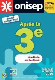 Académie de Bordeaux - Onisep