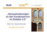 Vortrag Perinaldo vom 30.7.2010 - Prof. Dr. Heike Simmet