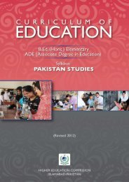 Pakistan Studies - USAID Teacher Education Project