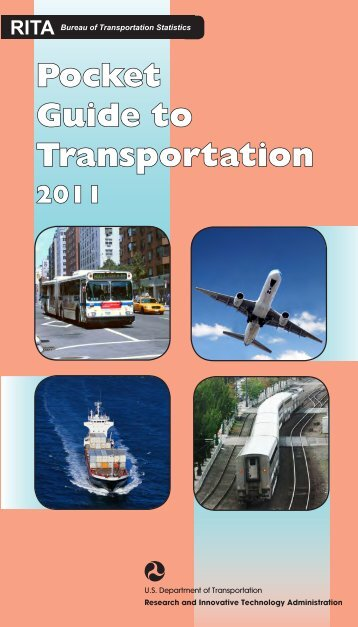 Pocket Guide to Transportation - Research and Innovative ...