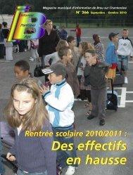 Oct 2010 - Brou Sur Chantereine
