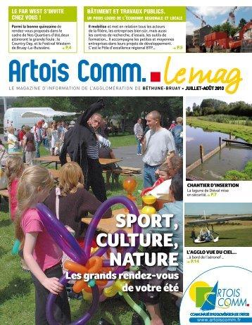 Le Mag juillet 2010 - Artois Comm.