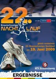 am 19. Juni 2009 - Braunschweiger Nachtlauf