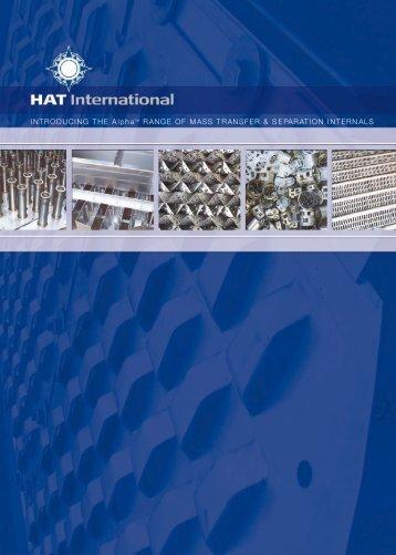 INTRODUCING THE AlphaT M RANGE OF ... - HAT International