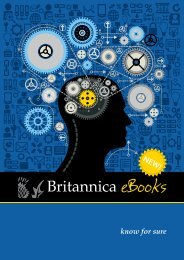 Britannica 2013 eBook brochure - Jisc Collections