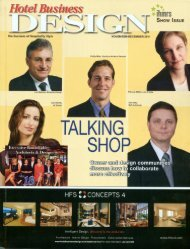 Design Magazine - Simeone Deary Design Group