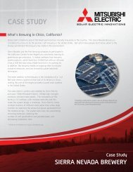 Sierra Nevada Brewery Case Study - Mitsubishi Electric