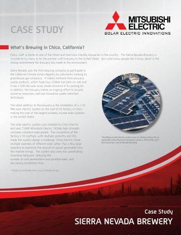 Sierra Nevada Brewery Case Study - Mitsubishi Electric