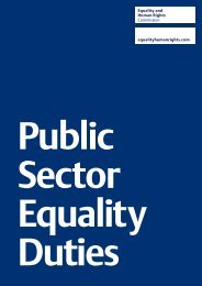Strategic Priorities Consultation Document - Equality and Human ...