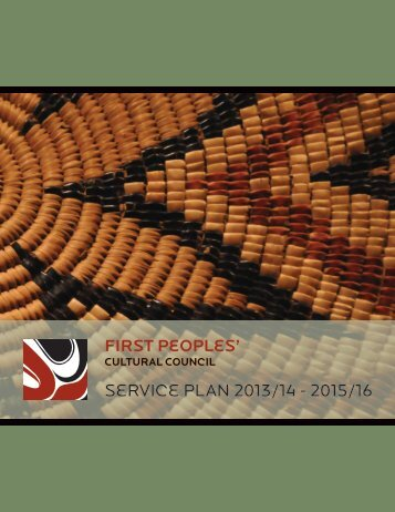 Service Plan 2013/14 - 2015/16 - First Peoples