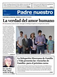 La verdad del amor humano - Archidiócesis de Toledo