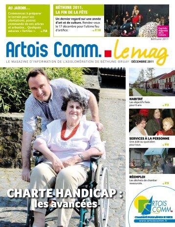 chaRte handicap : chaRte handicap : - Artois Comm.