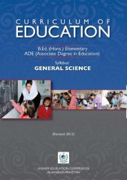 Draft Syllabus: Science I - USAID Teacher Education Project
