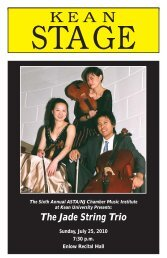 The Jade String Trio - ASTA/NJ