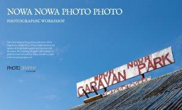 NOWA NOWA PHOTO PHOTO - Photography by Ewen Bell