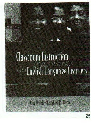 Classroom Instruction That Works with English Language Learners.pdf