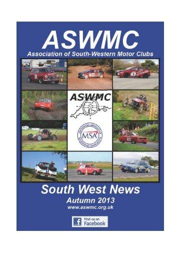ASWMC Autumn Newsletter - Association of South Western Motor ...