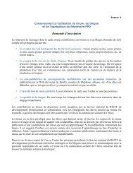 Demande d'inscription - Le réseau des blogues du Service national ...