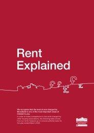Your rent explained - Broadland Housing Association