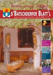 Janvier 2006 - n° 10 - Betschdorf
