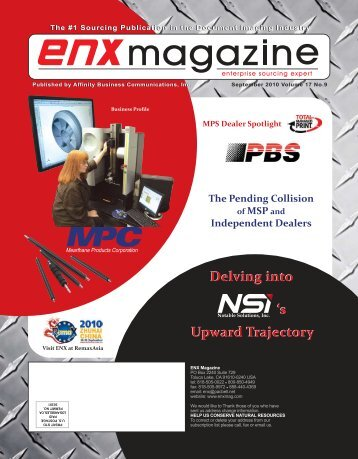 September 2010 Issue pdf - ENX Magazine