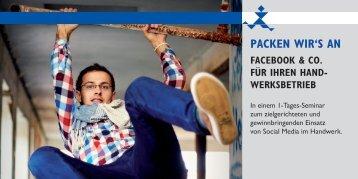 packen wir's an facebook & co. für ihren hand - KMB | Konzept ...