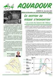 La gestion du risque d'inondation - Observatoire de l'Eau du bassin ...