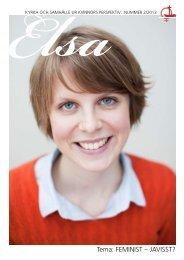 Förra nr av ELSA i PDF-format - Sveriges Ekumeniska kvinnoråd
