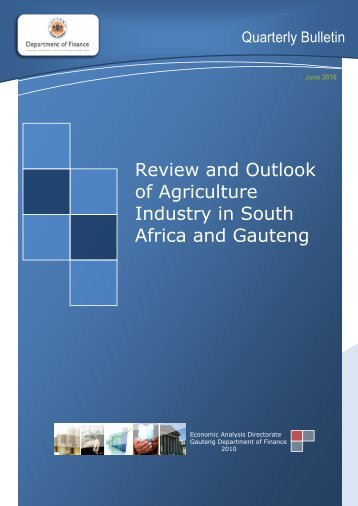 Quarterly Bulletin June 2010 - Gauteng Provincial Treasury