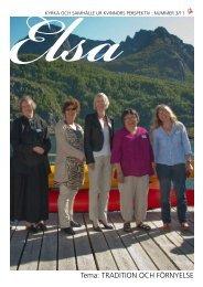 tema: trAdition och förnyelse - Sveriges Ekumeniska kvinnoråd