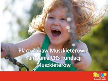 Place Zabaw Muszkieterów - Konkurs Kampania Społeczna Roku