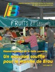 Un nouveau souffle pour le marché de Brou Un nouveau souffle ...