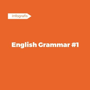 English Grammar #1
