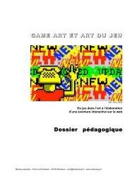 GAME ART ET ART DU JEU Dossier pédagogique - Maison Populaire