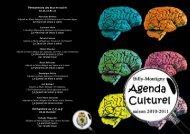 agenda culturel 2010-2011 - Ville de Billy-Montigny