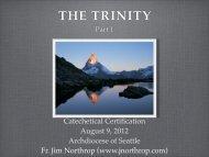 The Trinity Part 1 - Fr. Jim