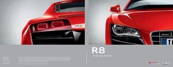 Audi R8 Coupé | R8 Spyder - Produkte24