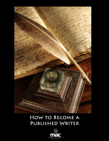 How To Become A Published Writer.pdf - Mississippi Arts Commission