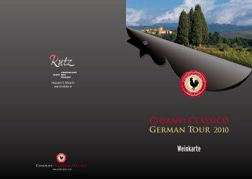 Chianti Classico glasweise. - Weinbar Rutz